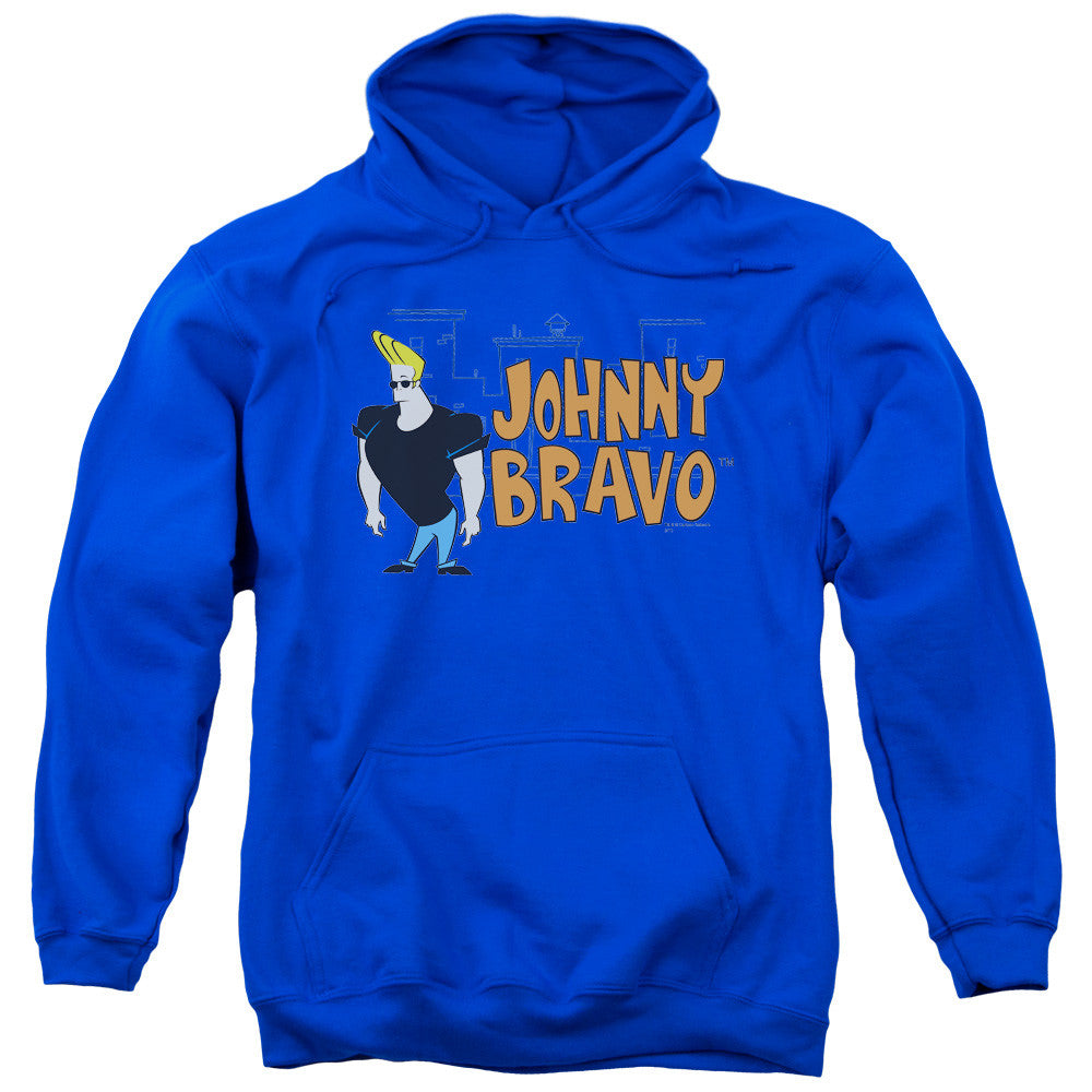 Johnny Bravo Johnny Logo Royal Blue