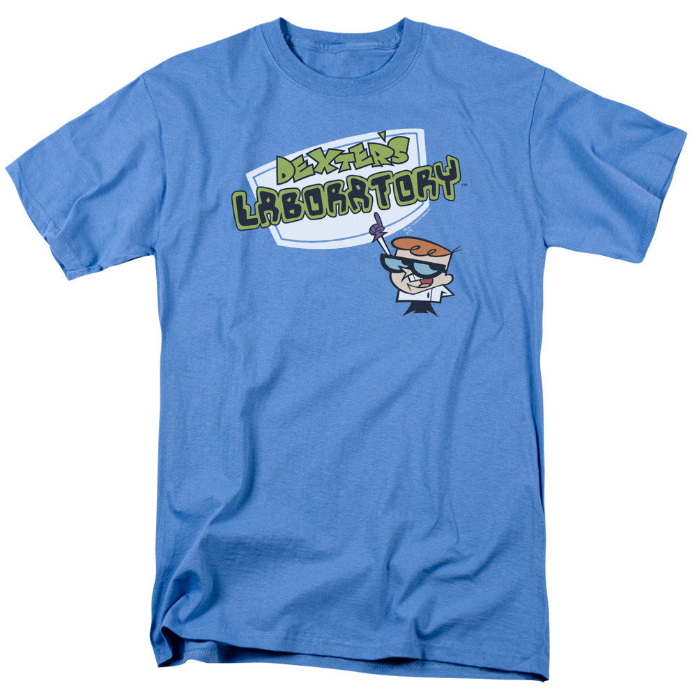 Dexters Laboratory Logo Carolina Blue