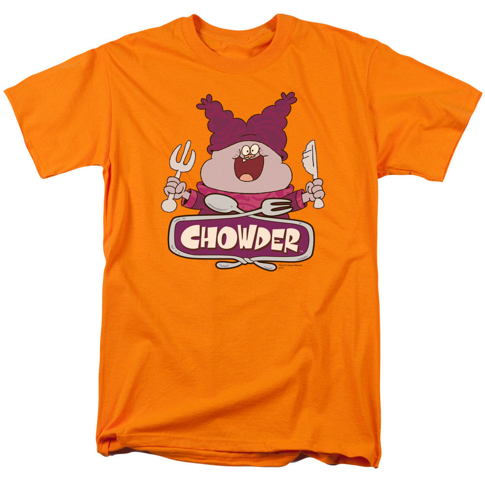 Chowder Logo Orange