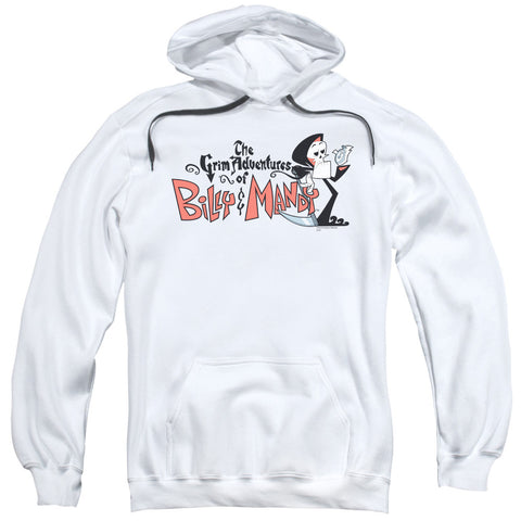 Billy Mandy Logo White