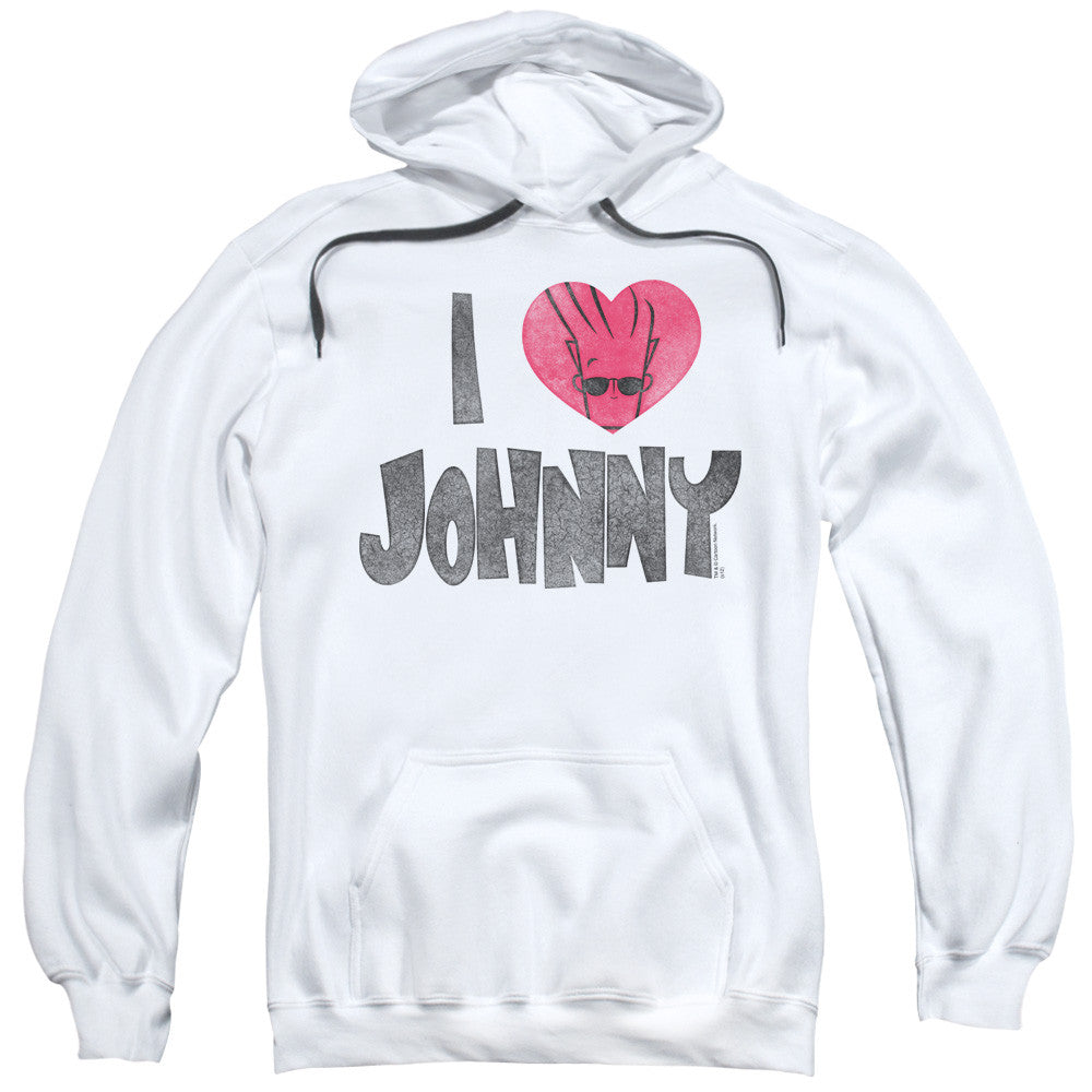 Johnny Bravo I Heart Johnny White