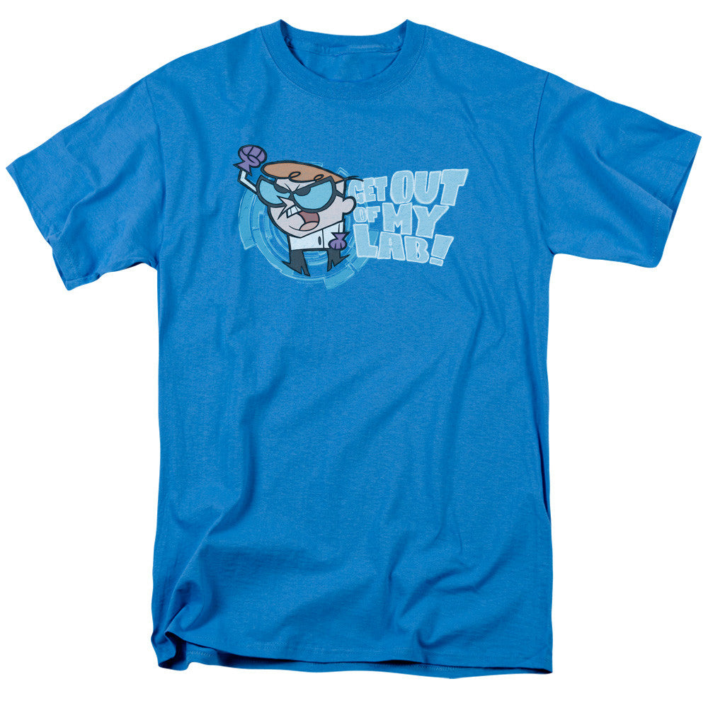 Dexters Laboratory Get Out Turquoise