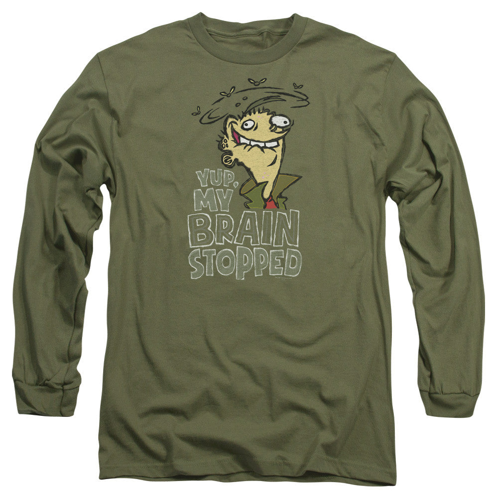 Ed Edd N Eddy Brain Dead Ed Military Green
