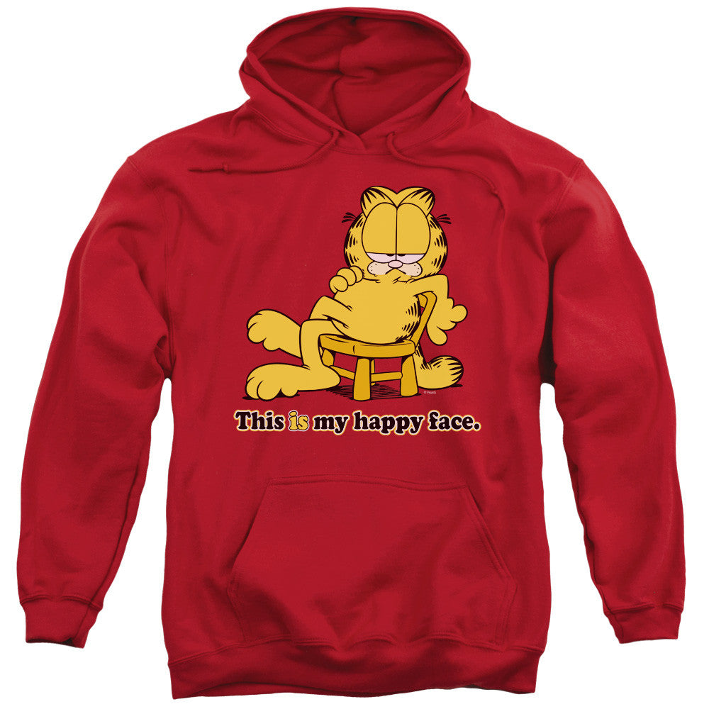 Garfield Happy Face Red