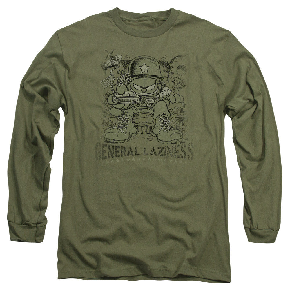 Garfield General Laziness Military Green