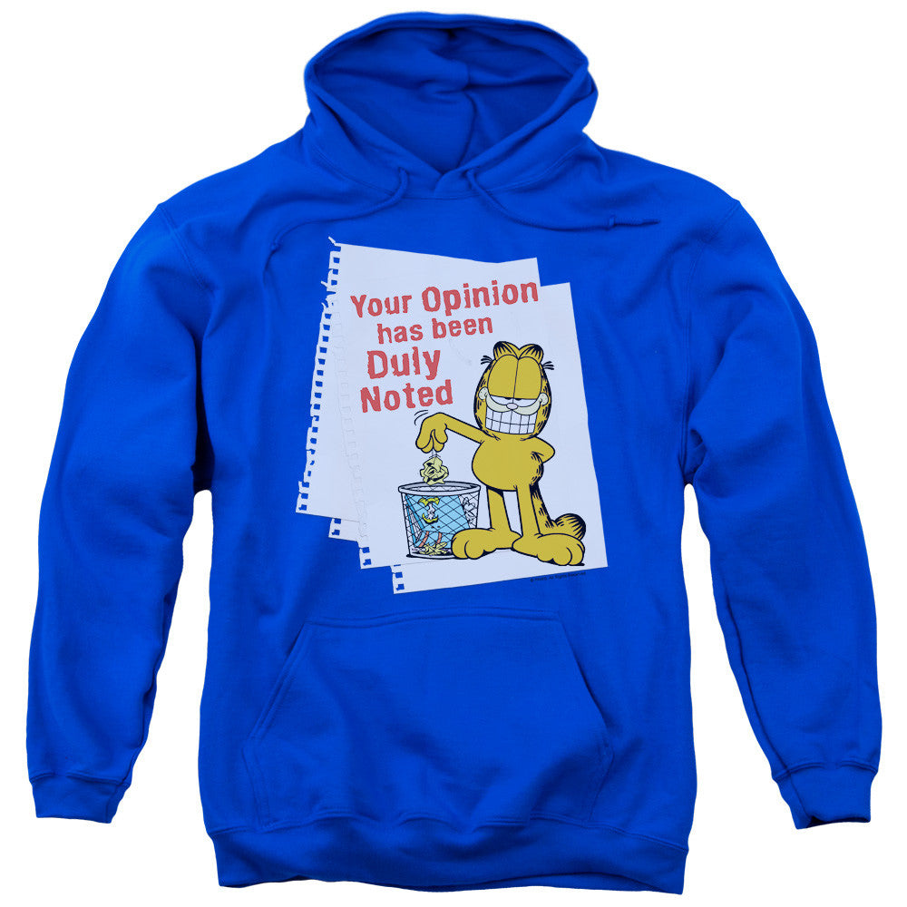 Garfield Duly Noted Royal Blue