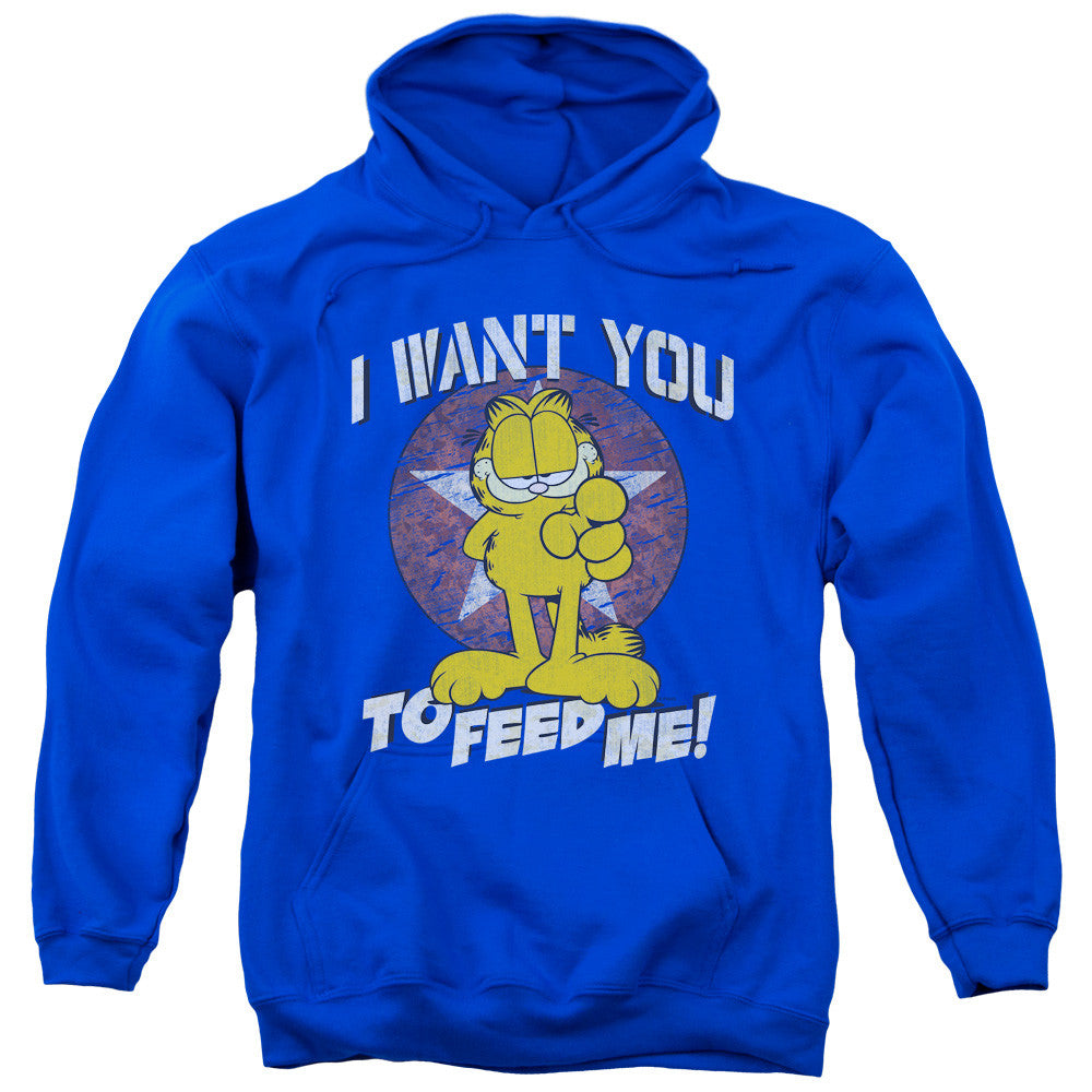 Garfield I Want You Royal Blue