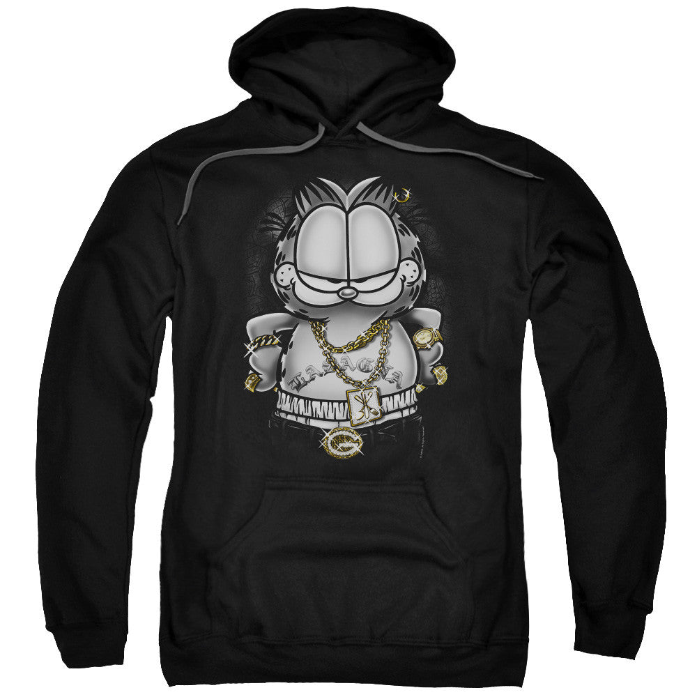 Garfield Lasagna For Life Black