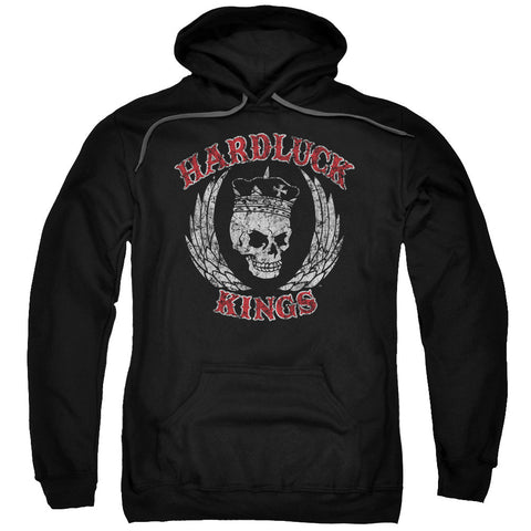 Hardluck Kings Red Letter Distressed Black