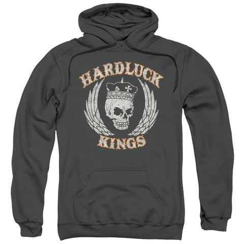 Hardluck Kings Red Cream Distressed Charcoal