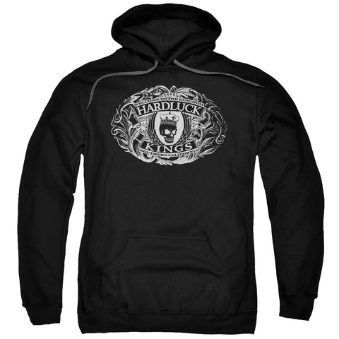 Hardluck Kings Oval Logo Black
