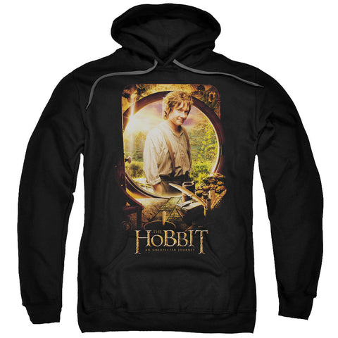 The Hobbit Bilbo Poster Black