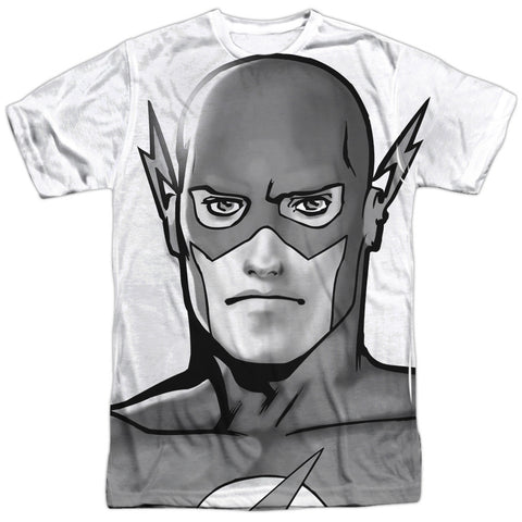 Justice League Of America Bw Flash Head White