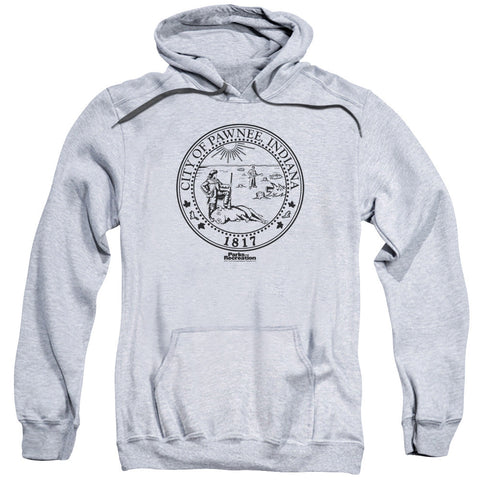 Parks Rec Pawnee Seal Athletic Heather