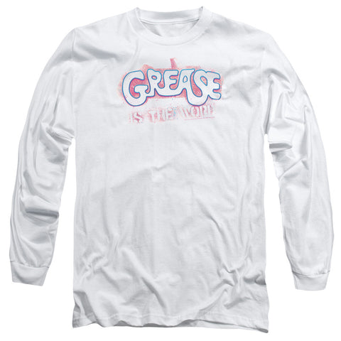 Grease Grease Is The Word White