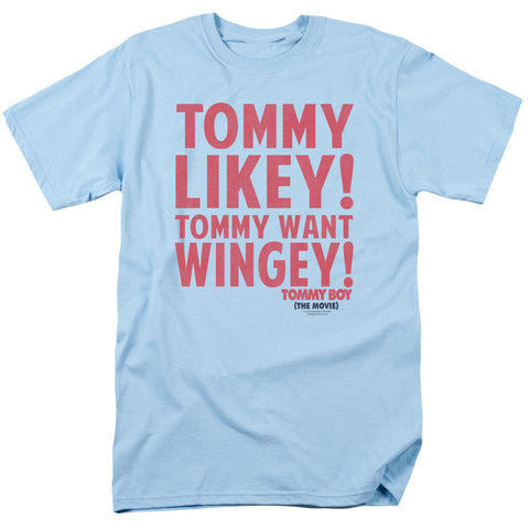 Tommy Boy Want Wingey Light Blue