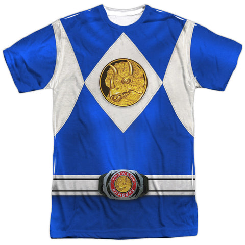 Power Rangers Blue Ranger Emblem White