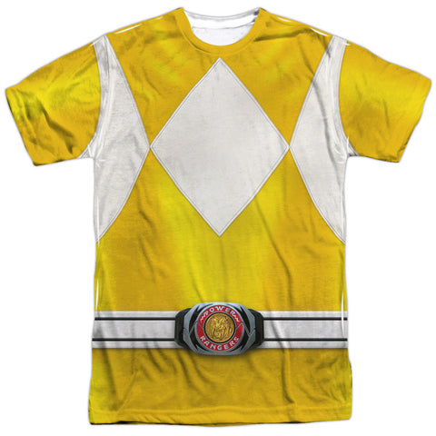 Power Rangers Yellow Ranger White
