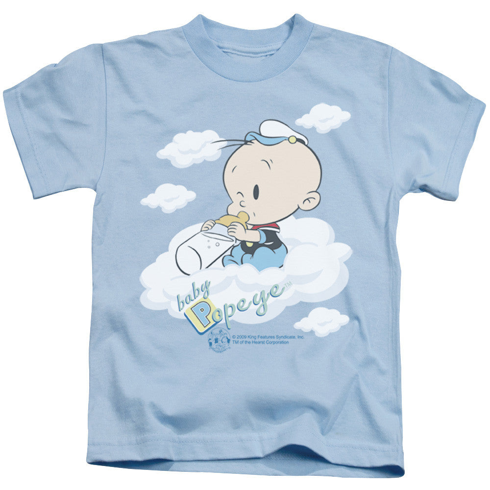 Popeye Baby Clouds Light Blue