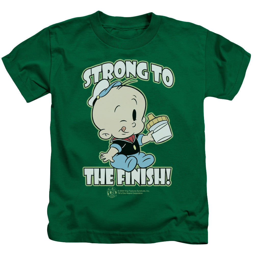 Popeye Strong To The Finish Kelly Green