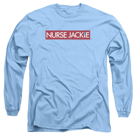 Nurse Jackie Logo Carolina Blue