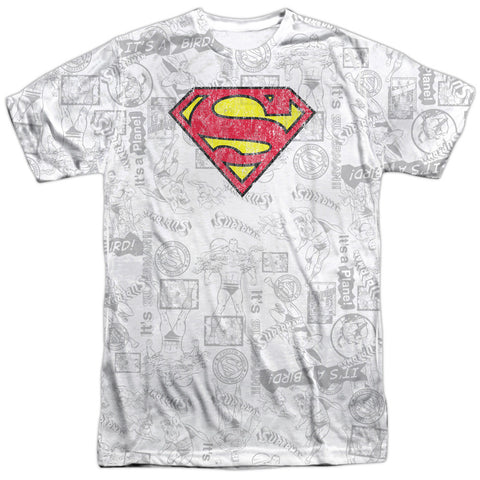 Superman Classic Repeat White