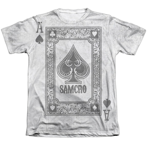 Sons Of Anarchy Ace Of Spades White