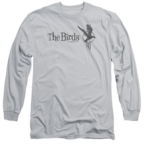 Birds Distressed Silver