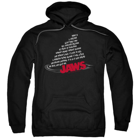 Jaws Dorsal Text Black