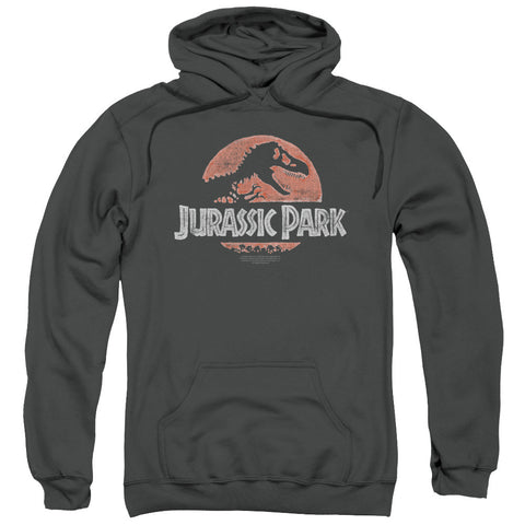 Jurassic Park Faded Logo Charcoal