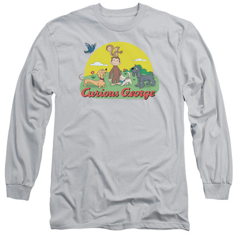 Curious George Sunny Friends Silver