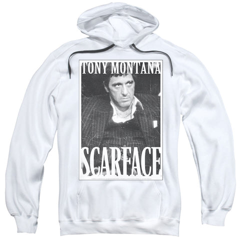 Scarface Business Face White