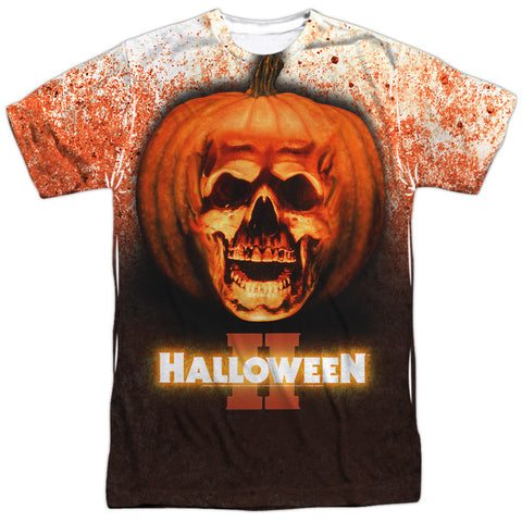Halloween Ii Pumpkin Skull White