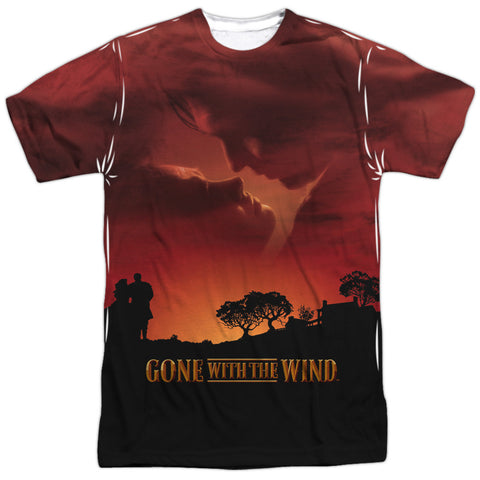 Gone With The Wind Sunset White