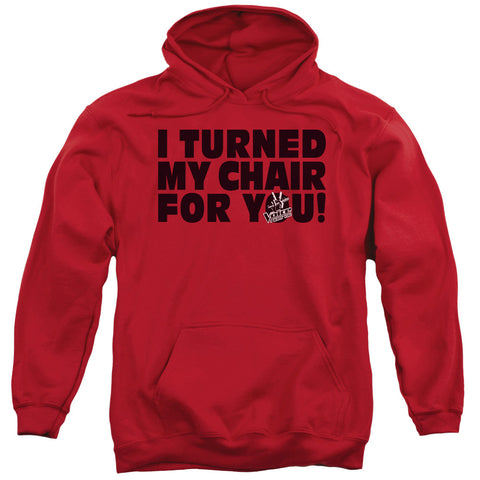 Voice Turned My Chair Red