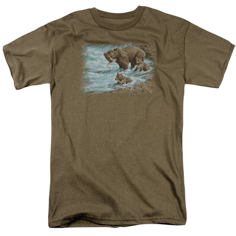 Wildlife Alaskan Brown Bear Safari Green