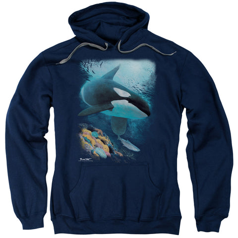 Wildlife Salmon Hunter Orca Navy