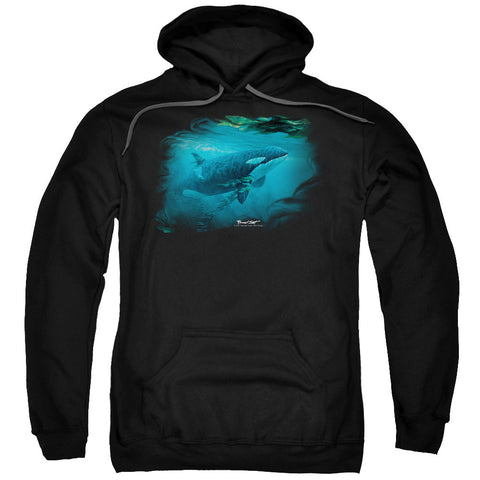 Wildlife Pursuit Thru The Kelp Orca Black