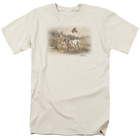 Wildlife Pointer Bobwhite Quail Cream