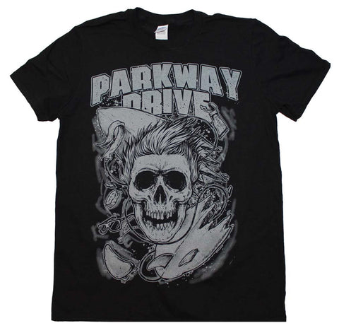 Parkway Drive Surfer Skull