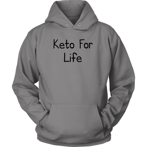 Keto For Life-Black Text