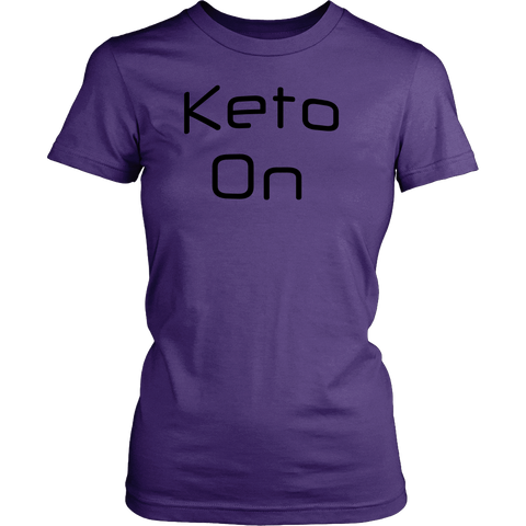 Keto On-Black Text