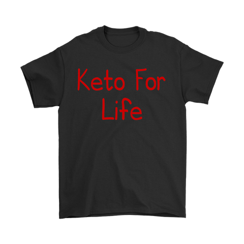 Keto For Life-Red Text