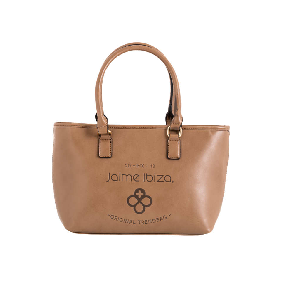 "Bolso estilo ""Shopping bag "" cafe"