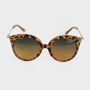 Lentes de leopardo corte cat eye