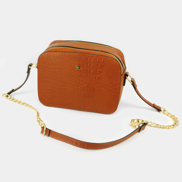 "Crossbody café  ""Mura Croco"""