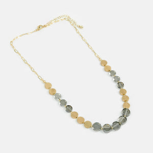Collar color gris