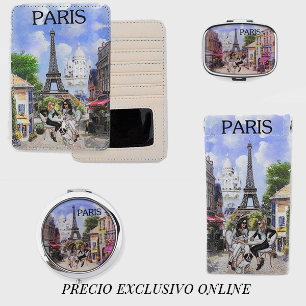Precio exclusivo online, set café parisino