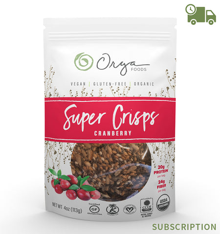 Cranberry Super Crisps Subscription