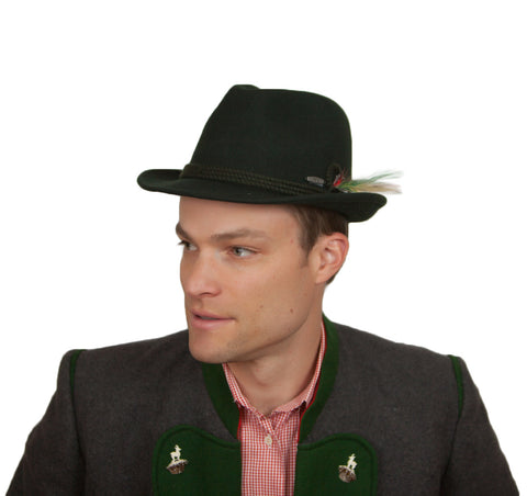 Find out the right size to find the perfect Bavarian hat for you.